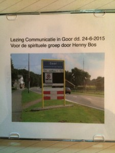 lezing communicatie Goor