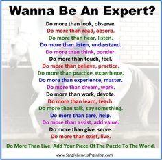 expert worden
