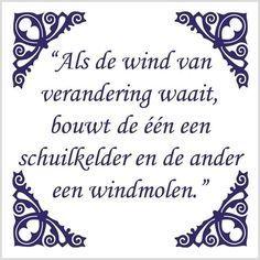 tegeltje wind